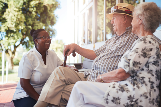 HCAs in retirement homes build long-term relationships with their clients