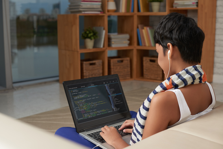 As a freelancer, you can work as a web developer from the comfort of your own home