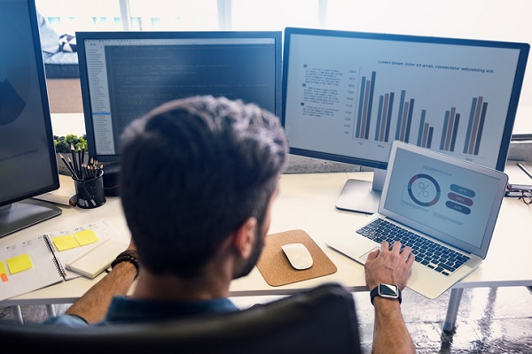 Computer applications help offices improve operations