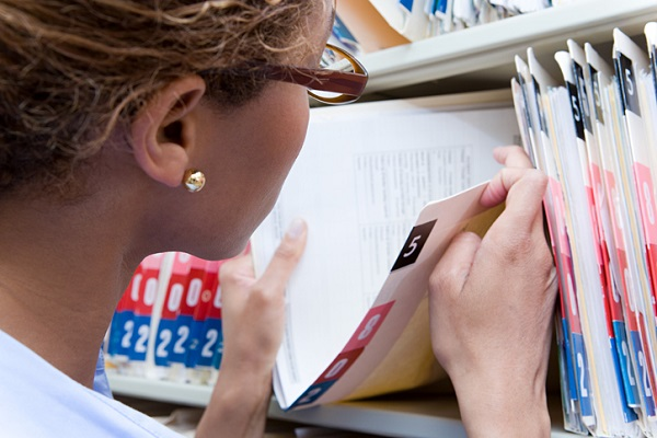 Office administrators are often tasked with updating patient files