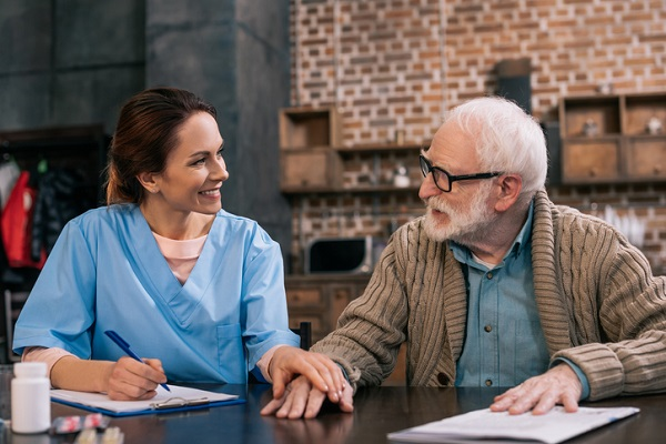 Hospice workers can form a meaningful relationship with their clients