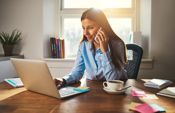 Professional office administration workers can even work remotely